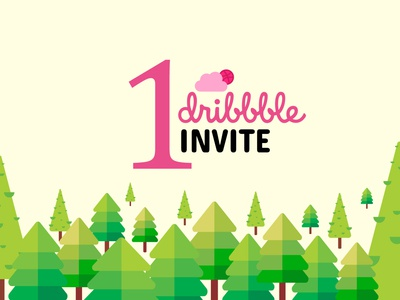 One Dribbble Invitation 🏀