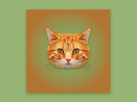 The Red Cat low poly