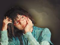 Polygonal Art Japanese Girl