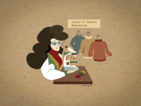 The sweaters researcher