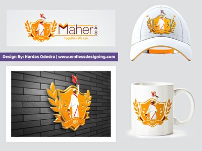 Maher Community Logo Design