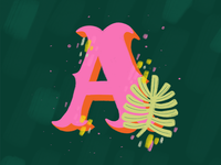 Letter A – 36 Days of Type
