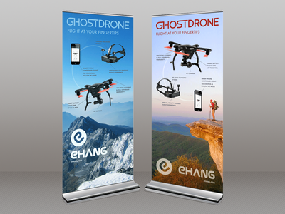 Rollup Banners graphic design branding banner