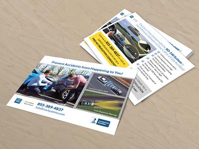 Flyer automotive adv flyer print