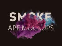 New Ape Mockup Smoke Scene