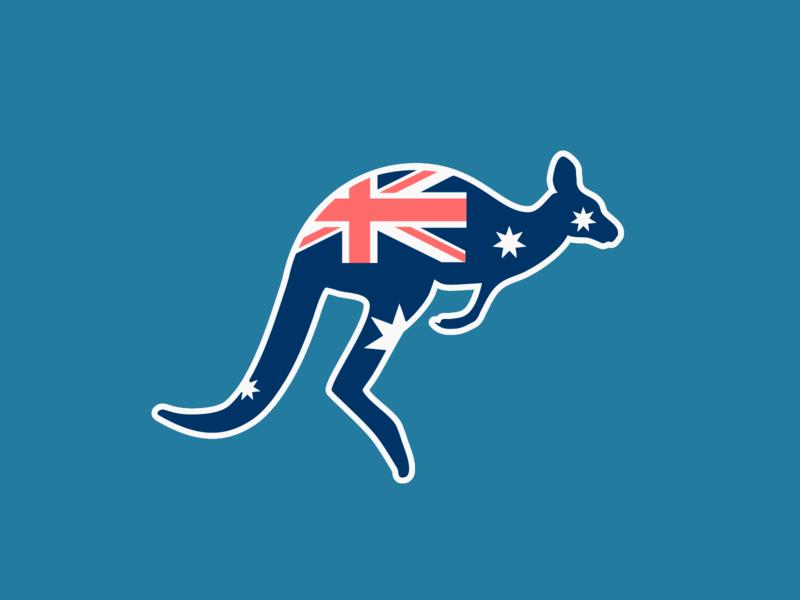 Kangaroo Logo | Daily Logo Challenge Day 19
