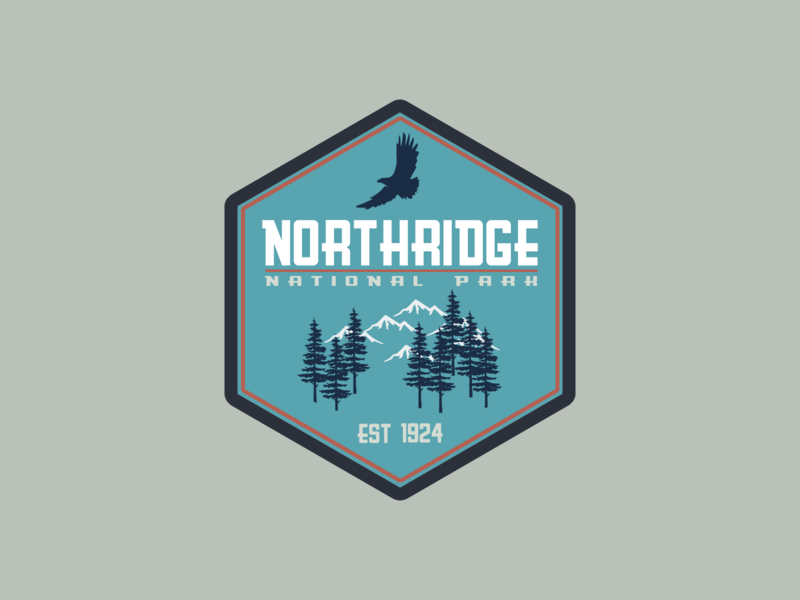 National Park Logo | Daily Logo Challenge Day 20
