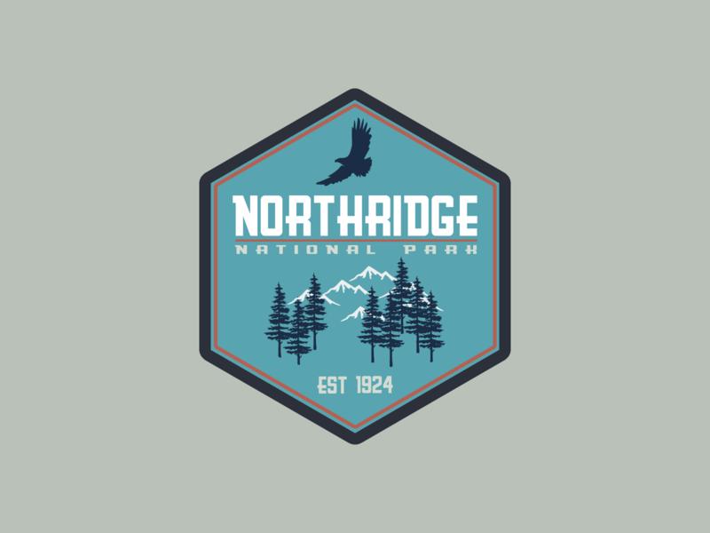 National Park Logo | Daily Logo Challenge Day 20