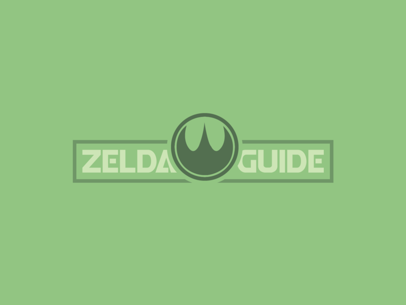 Zelda Guide Logo | 30 Day Logo Challenge Day 2 video game zelda guide legend of zelda blog zelda logocore logo design branding 30daylogochallenge