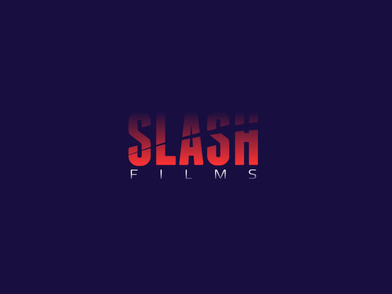 Slash Films Logo | 30 Day Logo Challenge Day 6 film production filmmaking films slash branding design logo 30daylogochallenge