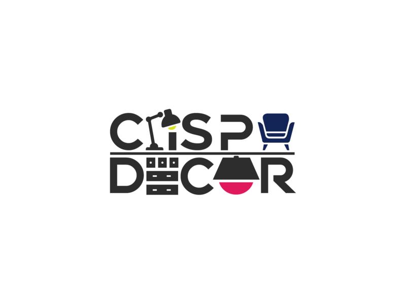 Crisp Decor Logo | 30 Day Logo Challenge Day 12 minimal modern interiordesign decor crisp logocore design logo branding 30daylogochallenge