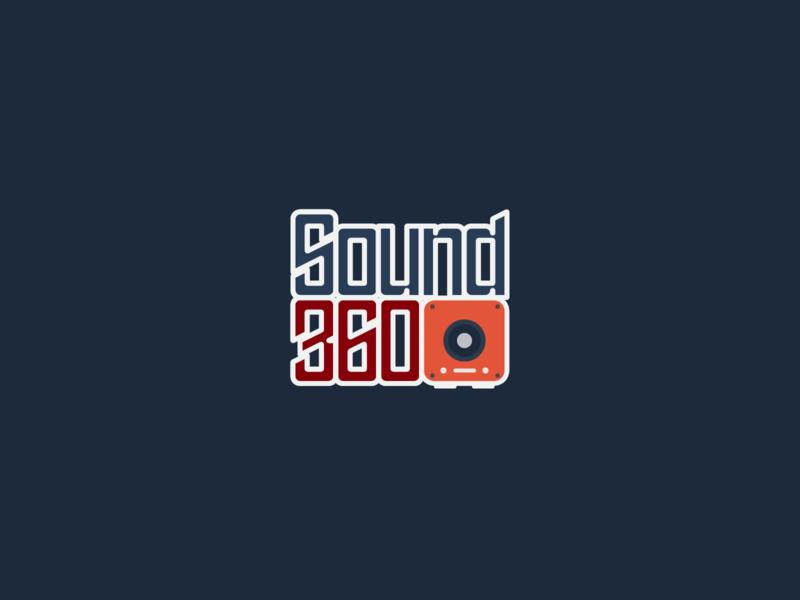Sound 360 Logo | 30 Day Logo Challenge Day 13 speakers 360 sound logocore logo design branding 30daylogochallenge