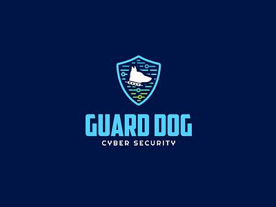 30DaysofLogos Challenge Day 10 - Cyber Security tech dog guard security cyber branding logo design 30daysoflogos