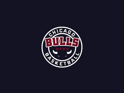 30DaysofLogos Challenge Day 11 - Basketball Team bulls chicago bulls chicago team basketball branding design logo 30daysoflogos