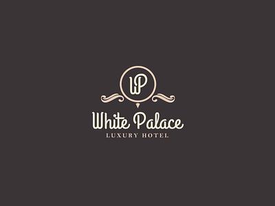 30DaysofLogos Challenge Day 13 - Luxury Hotel fancy hotel luxury palace white branding design logo 30daysoflogos