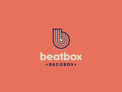 30DaysofLogos Challenge Day 14 - Record Label music beatbox label record branding design logo 30daysoflogos