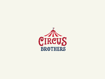 30DaysofLogos Challenge Day 15 - Circus Logo brothers circus branding design logo 30daysoflogos