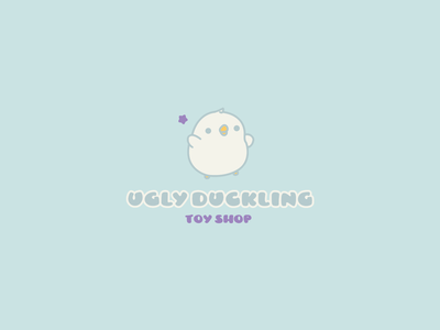30DaysofLogos Challenge Day 16 - Toy Company duckling ugly company shop toy branding design logo 30daysoflogos