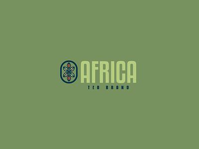 30DaysofLogos Challenge Day 19 - Tea Brand leaf africa brand tea logo branding design 30daysoflogos