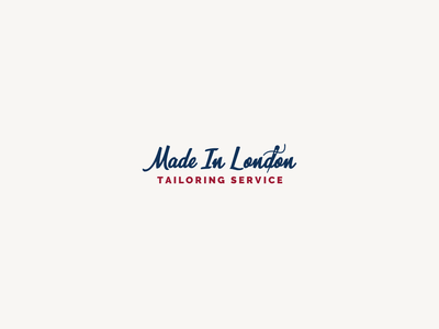 30DaysofLogos Challenge Day 22 - Tailoring Logo thread needle service london made tailor tailoring logo branding design 30daysoflogos