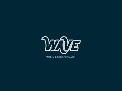 30DaysofLogos Challenge Day 24 - Music Streaming App wave music app app streaming music branding design logo 30daysoflogos