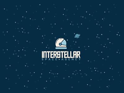 30DaysofLogos Challenge Day 26 - Space Agency planet outerspace astronaut interstellar agency space branding design logo 30daysoflogos