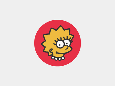 Lisa Simpson Designs Themes Templates And Downloadable Graphic Elements On Dribbble