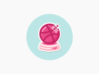 Dribbble Crystal Ball