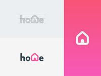 Dribbble Home Logotype