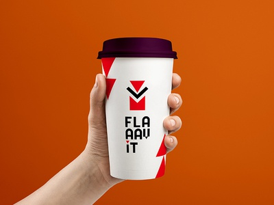 """Flaaav It"", Tea Product Logo design"