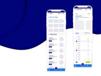 Food App Design, UX/UI Prototype