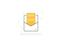 Email Campaigns, Icon Vector Illustration