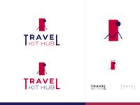Travel Kit Hub, Logo design
