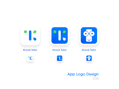 App Icon Design, KnockTutor