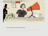 """Blog Post Illustration, """"Do Not Miss The Big Picture"""""""