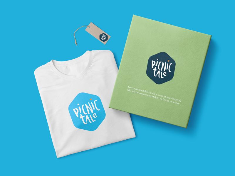 Branding Picnic Tale brand identity identity lettering lettermark wordmarks logo animation mark ui typography logos ux app logo infographic branding animation design website vector illustration