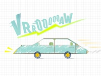Speeding in the '80s