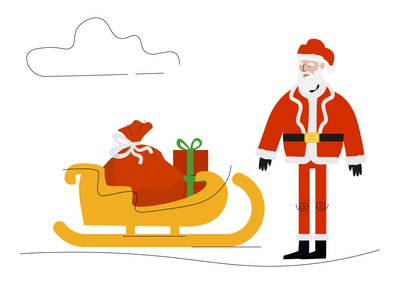 Christmas Edition Vector Illustrations - Shape Library