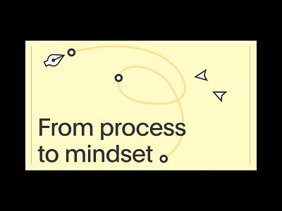 Mindset driven design talk figma minimal typogaphy