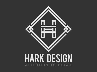 Day 4 - Hark Design branding h clean simple daily logo challenge logo graphic design adobe illustrator