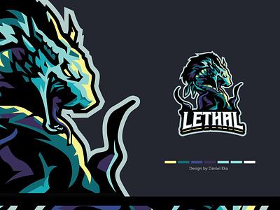 Lethal | Esport Logo mascot character mascot design mascot logo mascot esport logo esport logoplace logo design logotype logo