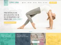 Esprit Yoga - A yoga tutor's Website