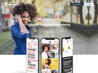 Digital Era - A Project Showcase page