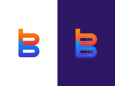 BigBrother Logo Concept type vector design icon branding logo alphabet logo 3d logo concept logo design logotype logo b logo b letter