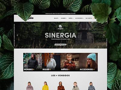 Buffalo Chile e-commerce website divi woocommerce wordpress shop website ecommerce ux design ui