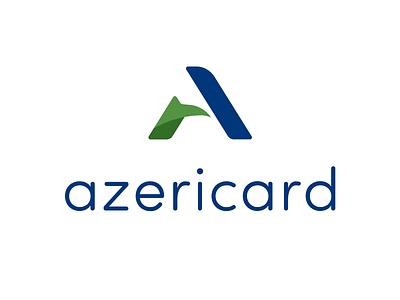 Azericard Logotype azericard brand logo identity corporate rebranding branding azerbaijan logotype