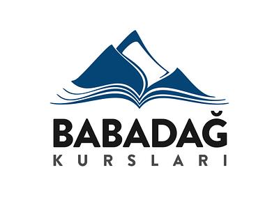Babadağ - Education Courses education book mountain logotype logo branding azerbaijan