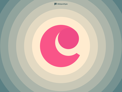 Letter C letter c letter typography typeface type 36days-c 36daysoftype