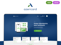 AzeriCard LLC website redesign