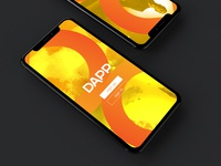 Dapp Iphone X Mockup